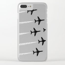Red Arrows Clear iPhone Case