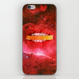 Red lips iPhone Skin