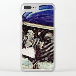 Triumph Bonneville SE 2009 Clear iPhone Case