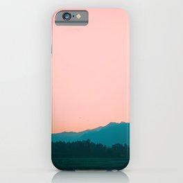 Sunrise in Kashmir iPhone Case