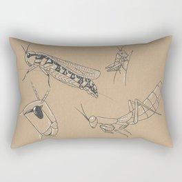 Locusts Rectangular Pillow