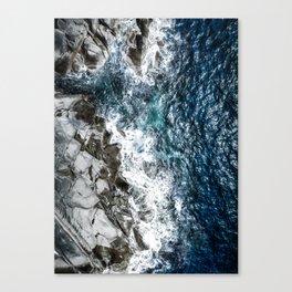Skagerrak Coastline - Aerial Photography Canvas Print