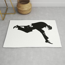 The Ministry of Silly Walks Artwork for Wall Art, Prints, Posters, Tshirts, Men, Women, Kids Rug