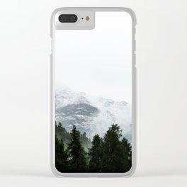 The Way Through The Woods Clear iPhone Case