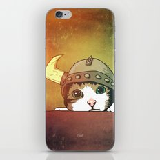 Viking Kitty iPhone & iPod Skin