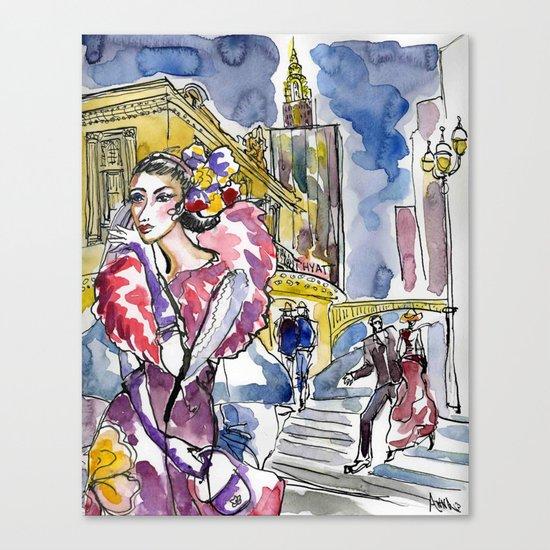 New York City street Canvas Print