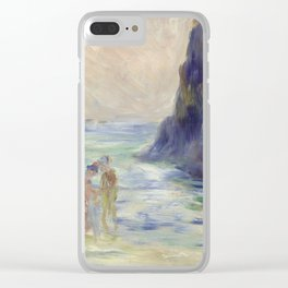 Renoir Guernsey Art Painting Clear iPhone Case