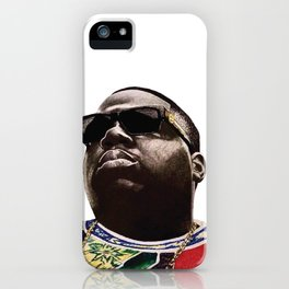 Black Frank White iPhone Case
