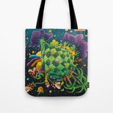 Pixel world Tote Bag