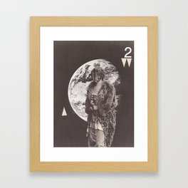Visitor Queen (no. 2) Framed Art Print