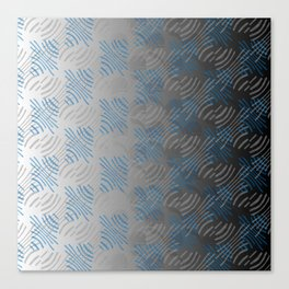 Pinched Lines Canvas Print