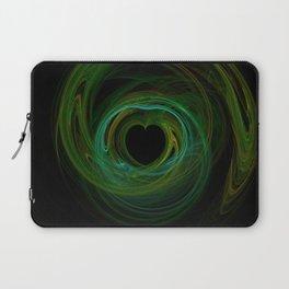 Valentine's Fractal VIII - Dark Laptop Sleeve
