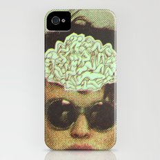 the human brain iPhone (4, 4s) Slim Case