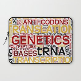 MOLECULAR BIOLOGY - Protein Synthesis Laptop Sleeve
