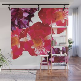 Roses Beautiful and Jazzy Wall Mural
