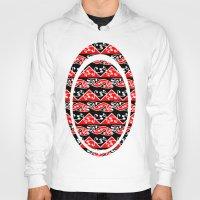 maori Hoodies featuring Kowhaiwhai Traditional Maori Koru Pattern by mailboxdisco