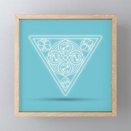 Water element Framed Mini Art Print