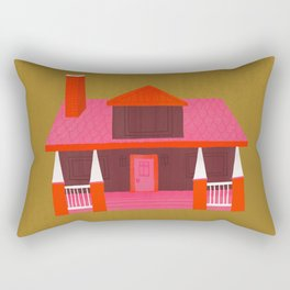 Architecture Series: Craftsman Style Rectangular Pillow
