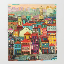 Porto Throw Blanket