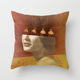 Social Life 15: The Dancer 2 Throw Pillow