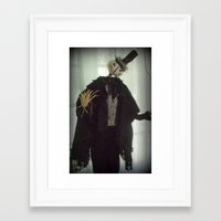 danny ivan Framed Art Prints featuring Ivan  by Cheswick Company