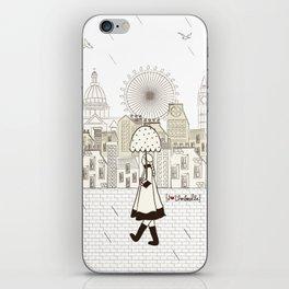 I {❤} Umbrella iPhone Skin