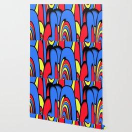 Comedy of Color Wallpaper
