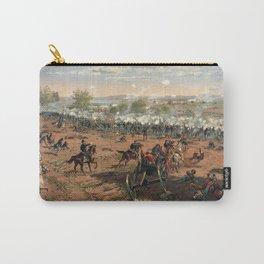 Civil War Battle of Gettysburg by Thure de Thulstrup (1887) Carry-All Pouch