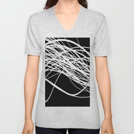 Linear Flow Unisex V-Neck