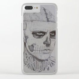 Zombieboy Clear iPhone Case