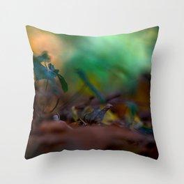Autumn crunch Throw Pillow