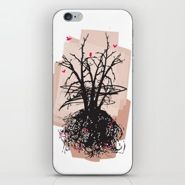 Birds and the Sky iPhone Skin