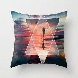 contemporary design Throw Pillow