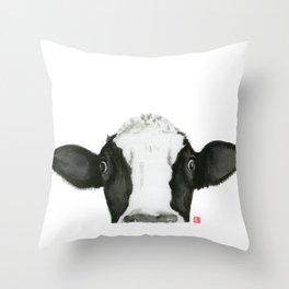 Curious Pauline Throw Pillow