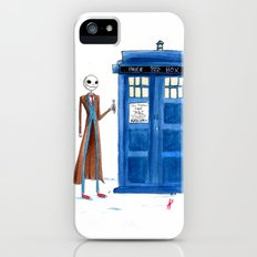 Doctor Wholington, Pumpkin Time Lord King! iPhone (5, 5s) Slim Case