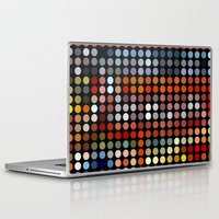 comic Laptop & iPad Skins featuring Comic by Triplea