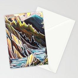 Creek Canyons, British Columbia Stationery Cards