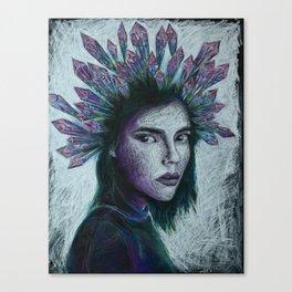 Crystal queen Canvas Print