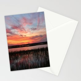 Sunset And Reflections 2 Stationery Cards