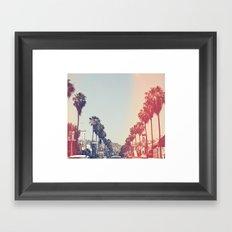 La La La Framed Art Print