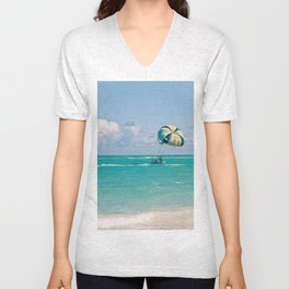 Dreaming of vacation Unisex V-Neck
