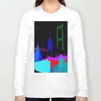 istanbul Long Sleeve T-shirts featuring Istanbul by Duru Eksioglu