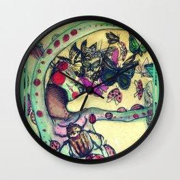 Prima vera by ro.denarmen Wall Clock