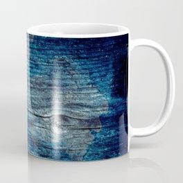 Old painted wood . Coffee Mug