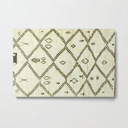 Moroccan traditional tapis Metal Print