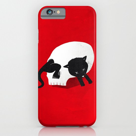 CURIOSITY KILLED THE CAT iPhone & iPod Case