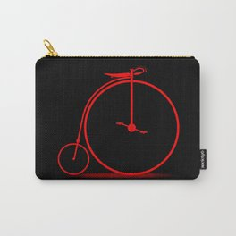 Red Penny Farthing Carry-All Pouch
