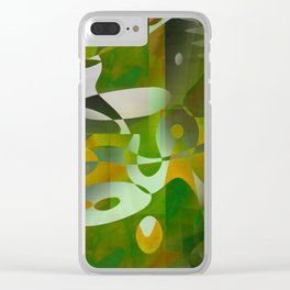 skeptical Clear iPhone Case
