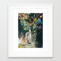 archan nair Framed Art Prints featuring Ia:Sija by Archan Nair