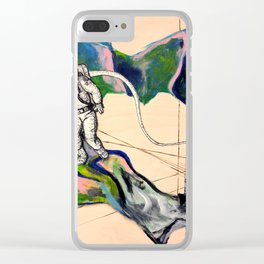 Foreign Territory Clear iPhone Case